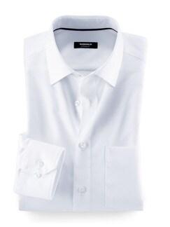 Extraglatt-Hemd Black & White