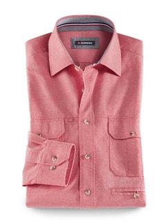 Klepper-Multi-Taschenhemd Rot Detail 1