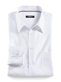 Fleckschutz-Hemd Weiß Detail 1