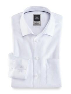 Extraglatt-Hemd Premium Weiss Detail 1