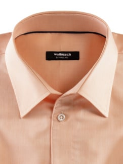 Extraglatt-Hemd Naturstretch Apricot Detail 3