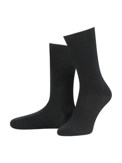 Cool Max-Socke 2er-Pack Schwarz Detail 1