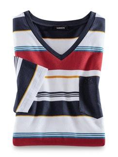 Summertime V-Shirt Terra Detail 1