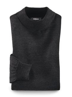 Merino-Mix Stehbund Pullover