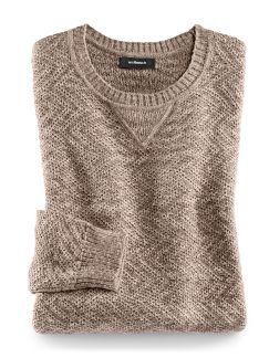 Pullover Alpaka Beige Detail 1