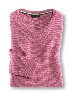 Struktur Leinen Pullover