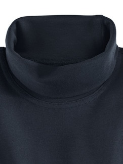 Rollkragen-Shirt Marine Detail 3
