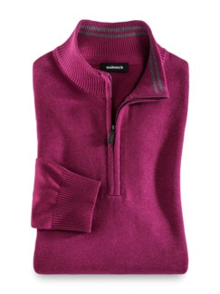 Troyer Cashmere Touch Beere Detail 1