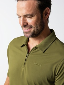 Klepper Dry Touch Polo Moos Detail 4