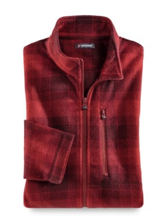 Klepper Karo-Fleecejacke Rot Detail 1
