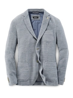 Pullover Sakko Hellblau Detail 1
