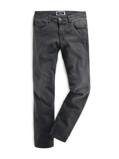 Jogger-Jeans Five Pocket Grey Detail 1