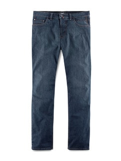 Thermo Comfortjeans Normalform Dunkelblau Detail 1