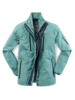 Windbreaker Jacke Aquastop Lagune Detail 1