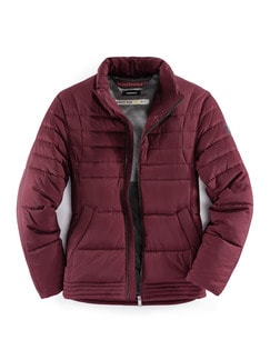 Easy-Flex Jacke Weinrot Detail 1
