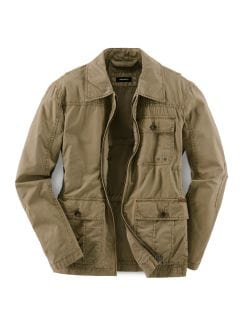 Fieldjacket Sand Detail 1