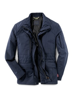 Gore-Tex Windstopper Jacke Marine Detail 1