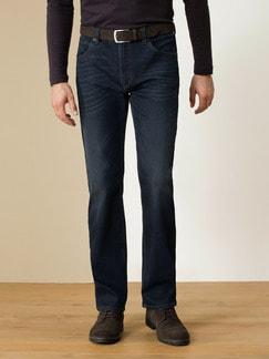 Husky Jeans Five-Pocket Dark Blue Detail 2