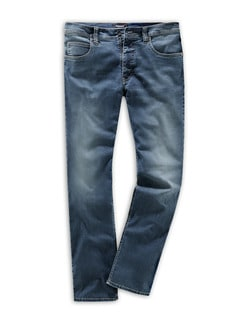 Husky Jeans Five-Pocket Dark Stone Detail 1