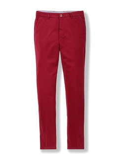 Easycare Light Cotton Chino Rot Detail 1