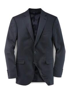 Biella Anzug-Sakko Super 110 Blau/Schwarz
