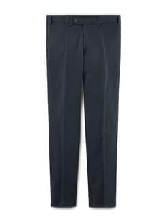 Biella Anzug-Hose Super 110 Blau/Schwarz