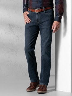 Extraglatt Flex Jeans Modern Fit Dark Blue Detail 2