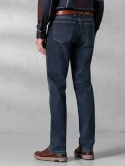 Extraglatt Flex Jeans Modern Fit Dark Blue Detail 4
