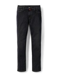 Extraglatt Flex Jeans Modern Fit Black Detail 1