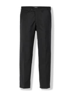 Naturstretch-Anzug Hose Schwarz Detail 1