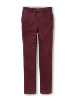 Easycare Chino Cashmerefinish 2.0 Bordeaux Detail 1