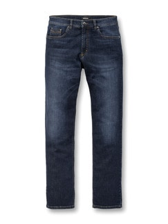 Super-Stretch-Denim J-Fibre Dark Blue Detail 1