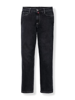 Extraglatt Flex Jeans Comfort Fit Black Detail 1