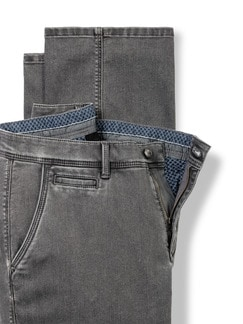 Husky Jeans Chino Grey Detail 4