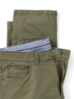 Extraglatt High Stretch Five-Pocket Khaki Detail 4