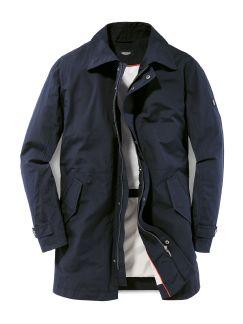 Raincoat Dunkelblau Detail 1