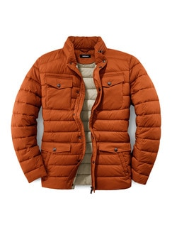 Light Weight Steppjacke Orange Detail 1