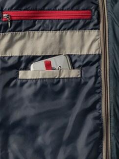 In-Zipp Blouson Schilf Detail 4