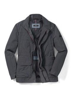 9-Taschen Jacke Anthrazit Detail 1
