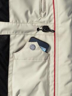 Klepper 11-Taschen Touringjacke Beige Detail 3