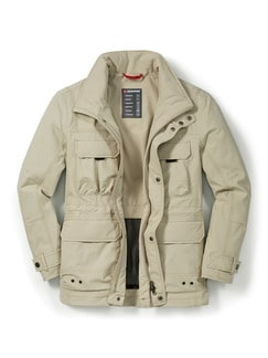 Klepper 11-Taschen Touringjacke Beige Detail 1