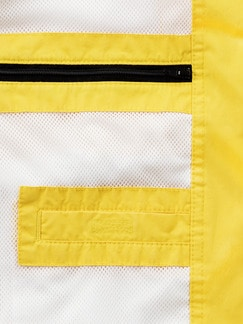 Baumwoll-Leichtblouson Gelb Detail 4