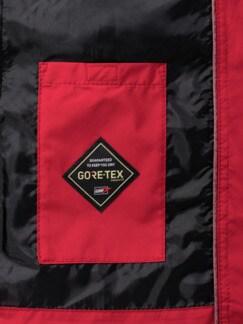 Gore-Tex Freizeitjacke Rot Detail 4