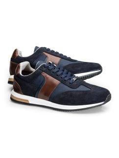 Travel-Sneaker Blau Detail 1