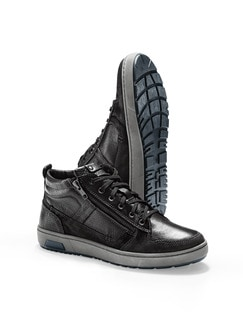 Kalbsleder-Sneaker High Top