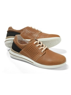City Sneaker 2.0 Cognac Detail 1