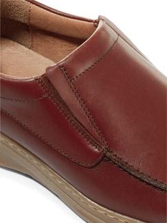Komfort-Slipper Cognac Detail 4