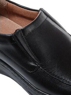 Komfort-Slipper Schwarz Detail 4