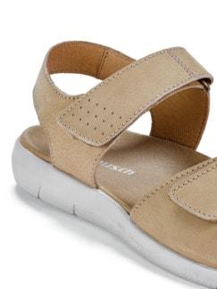 Klett-Sandale Taupe Detail 3