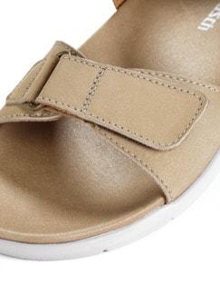 Klett-Sandale Taupe Detail 4